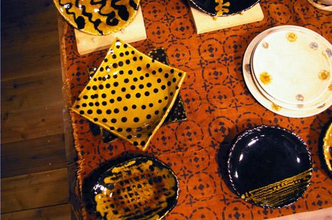 天伸さんの皿