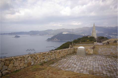 戦没学徒記念館から見る瀬戸内海
