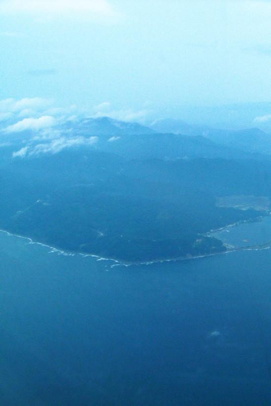 空から眺める日本