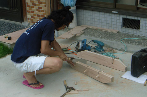 cottの家具試作品制作