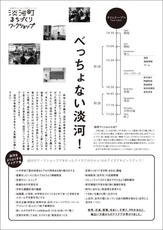 淡河町まちづくりワークショップvol.2