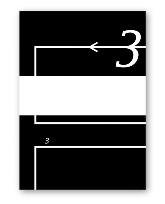 グラフィックデザインの習作