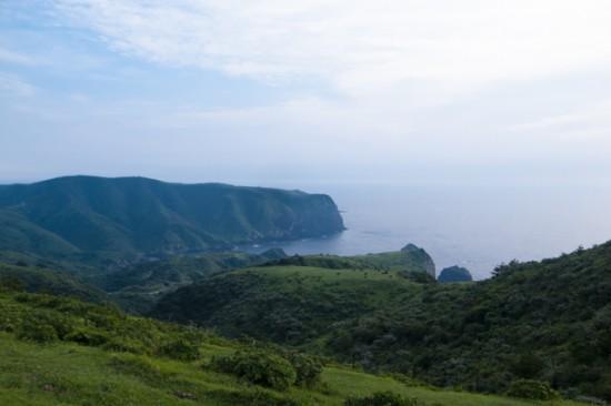 隠岐の西ノ島の風景
