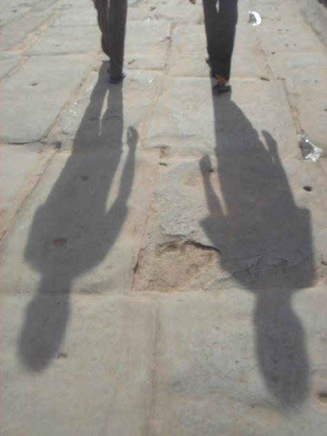 ふたりの影