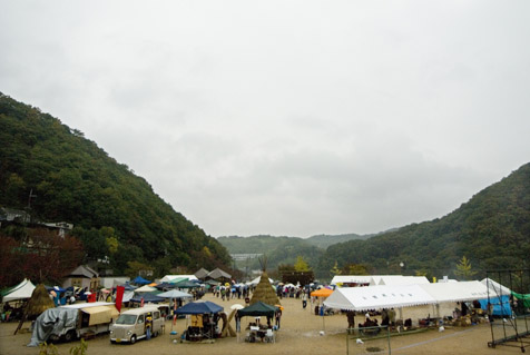 淡河そら祭りの風景