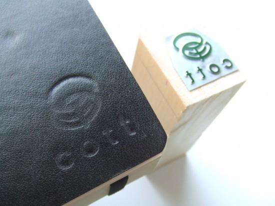 モレスキンの手帳に活版印刷