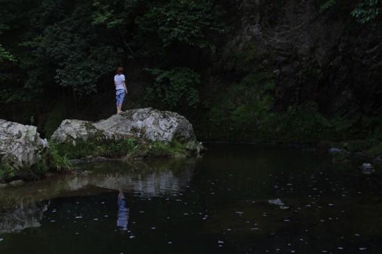 淡河の深山幽谷エリア