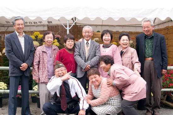 淡河町文化祭にて