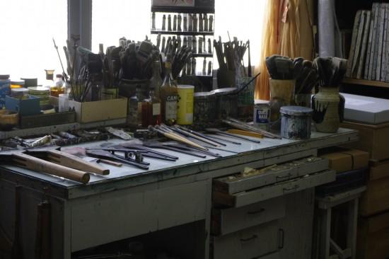 岡本太郎の机