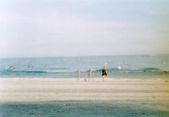サメット島の海岸