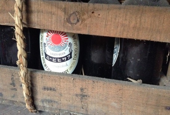 昔のアサヒビール