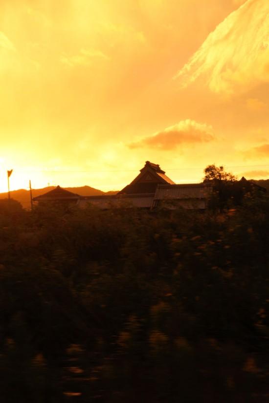 神戸市北区山田町の風景