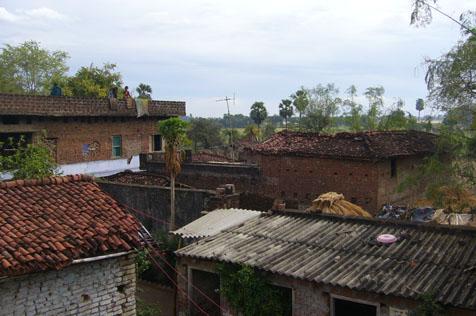 ブッダガヤの風景
