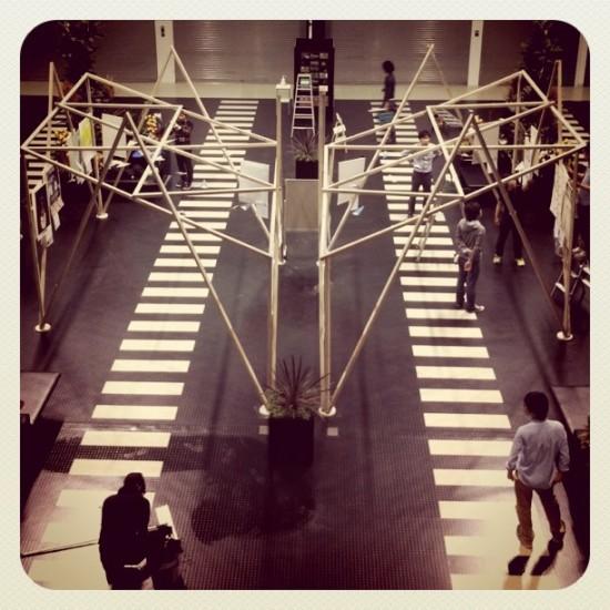 神戸デザインエアポート 展示ブース